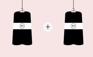 Concept location de robe choix d'une deuxième tenue