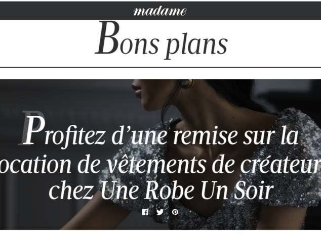 Discover our concept thanks to Madame Figaro