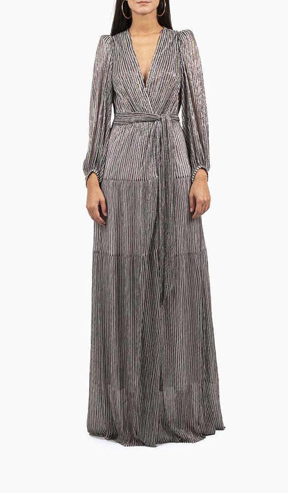 Location robe Bash Maddie Grise - Une Robe Un Soir