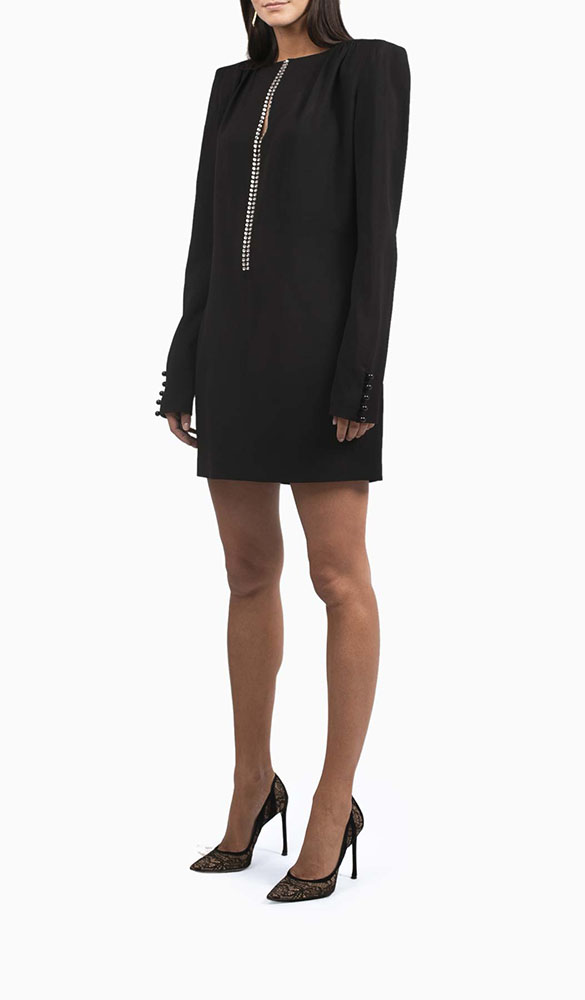 Location robe saint laurent crystal - Une Robe Un Soir
