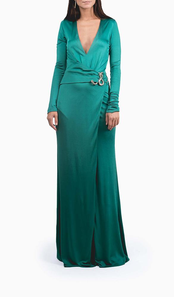 Location robe Roberto Cavalli Emerald - Une Robe Un Soir